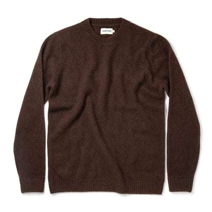 The Lodge Sweater in Chocolate