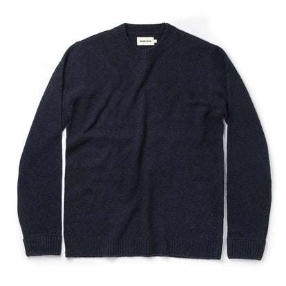The Lodge Sweater in Navy