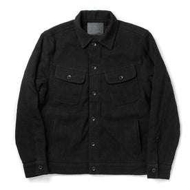 The Long Haul Jacket in Black Indigo Sashiko: Featured Image