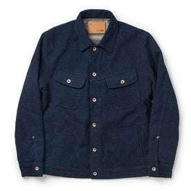 The Long Haul Jacket in Indigo Sashiko: Featured Image