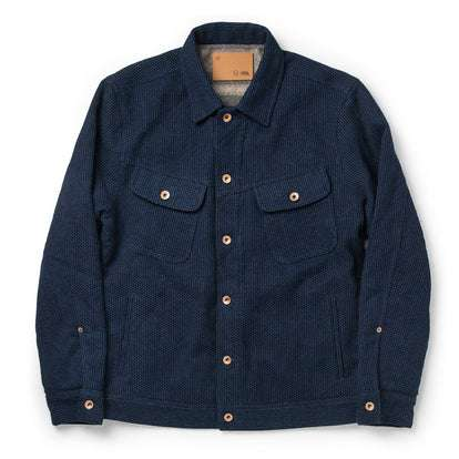 The Long Haul Jacket in Indigo Sashiko