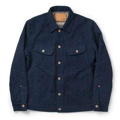 The Long Haul Jacket in Indigo Sashiko