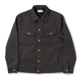 The Long Haul Jacket in Wool Beach Cloth: Featured Image