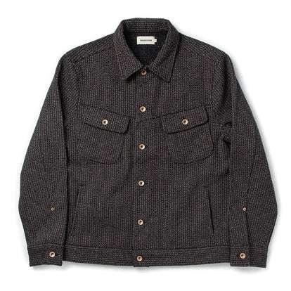 The Long Haul Jacket in Wool Beach Cloth