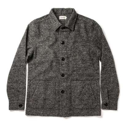The Ojai Jacket in Charcoal Wool