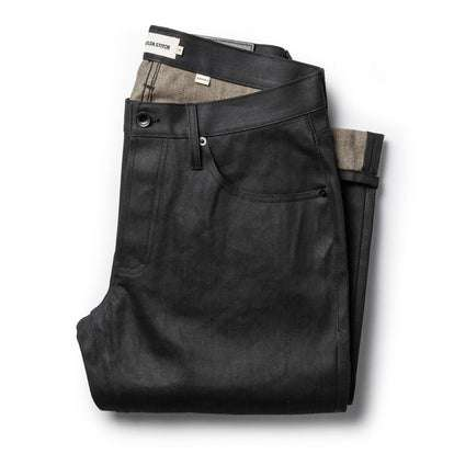 The Democratic Jean in Black Over-dye Selvage