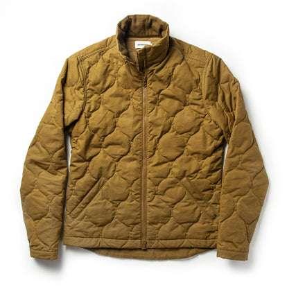 The Vertical Jacket in British Khaki Dry Wax
