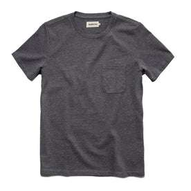 The Heavy Bag Tee in Heather Grey: Featured Image
