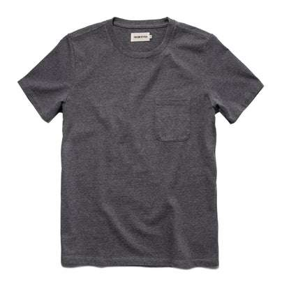 The Heavy Bag Tee in Heather Grey