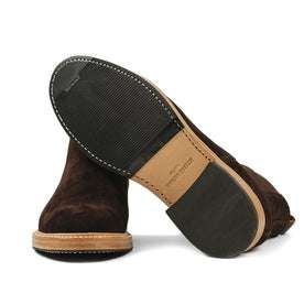 The Ranch Boot in Weatherproof Chocolate Suede: Alternate Image 9