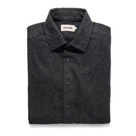 The Hyde in Charcoal Brushed Houndstooth: Featured Image