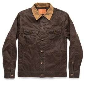 The Long Haul Jacket in Tobacco Waxed Canvas: Featured Image