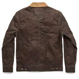 The Long Haul Jacket in Tobacco Waxed Canvas: Alternate Image 13