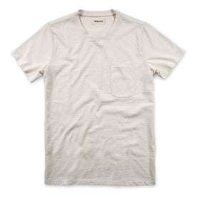 The Heavy Bag Tee in Natural: Featured Image