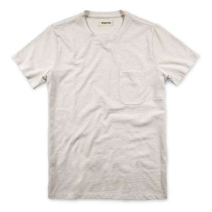The Heavy Bag Tee in Natural