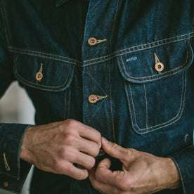 Cone Mills Jacket Buttons