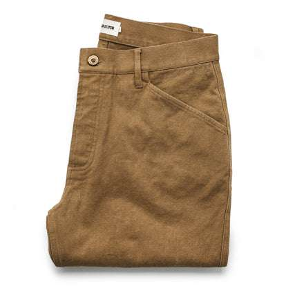The Camp Pant in British Khaki Tuff Duck