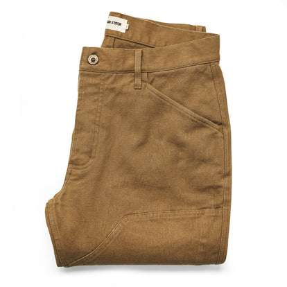 The Chore Pant in British Khaki Boss Duck