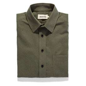 The California in Olive Jacquard: Featured Image