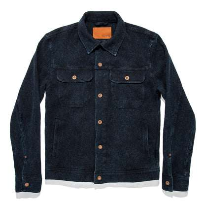 The Long Haul Jacket in Indigo Waffle