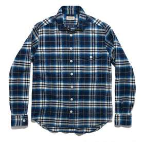 The Crater Shirt in Blue Plaid: Alternate Image 8