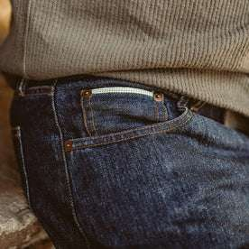 The Democratic Jean in 3 Month Rinse Selvage: Alternate Image 5