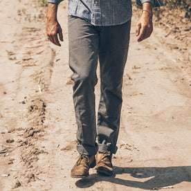 The Chore Pant in Washed Gravel: Alternate Image 2