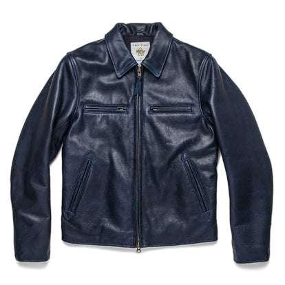 The Moto Jacket in Midnight Steerhide