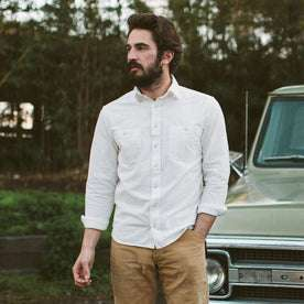 The California in White Everyday Chambray: Alternate Image 1