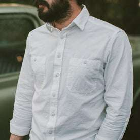 The California in White Everyday Chambray: Alternate Image 2