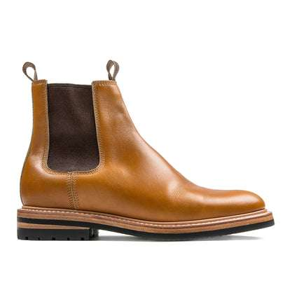 The Ranch Boot in Saddle Tan