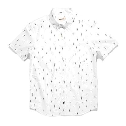 The Short Sleeve Jack in Tree Top Poplin
