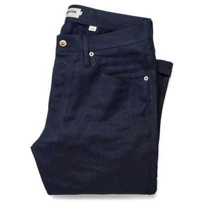 The Slim Jean in Double Indigo Standard