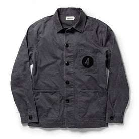 The Fourtillfour Ojai Jacket in Washed Charcoal: Featured Image