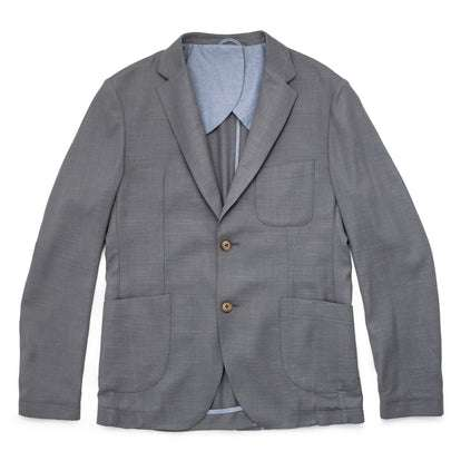 The Telegraph Jacket in Charcoal Slub