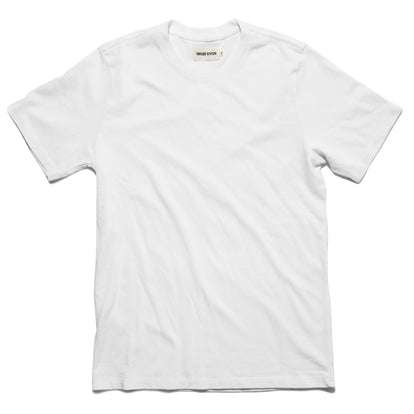 The Triblend Tee in White