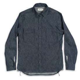 The Utility Shirt in Swift Mills Denim: Alternate Image 2