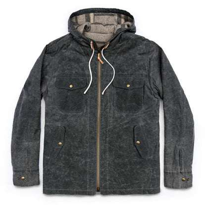 The Winslow Parka in Slate Wax Canvas