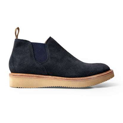 The Ranch Low in Weatherproof Navy Suede