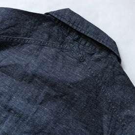 material shot of back detail