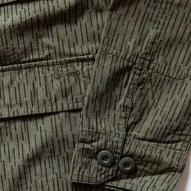 material shot — closeup of sleeve