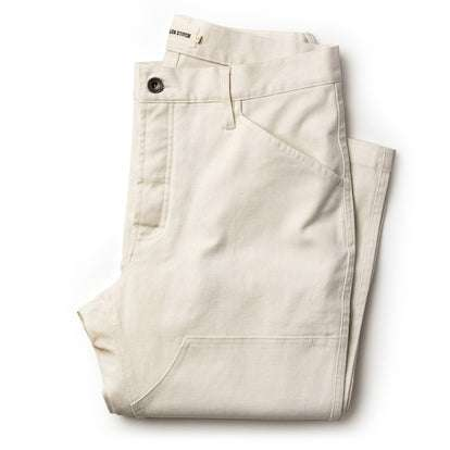 The Chore Pant in Natural Boss Duck