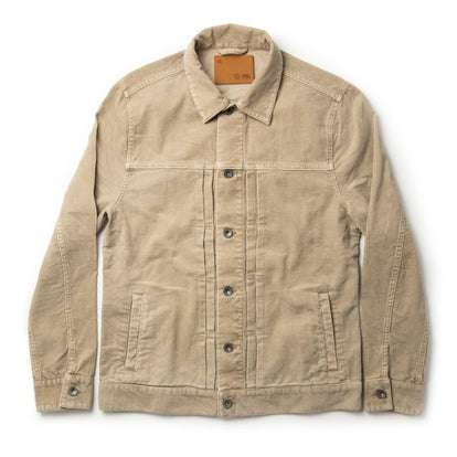 The Dispatch Jacket in Khaki Cord