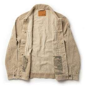open flatlay of jacket