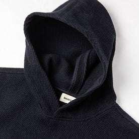 material shot of hood