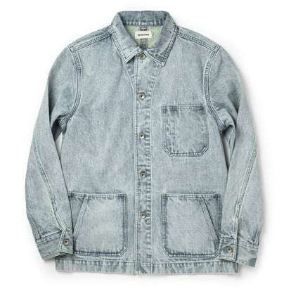 The Ojai Jacket in Washed Denim