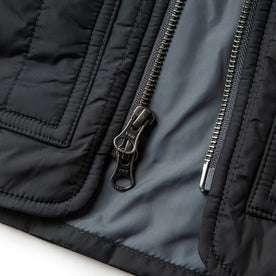 material shot of ykk zippers