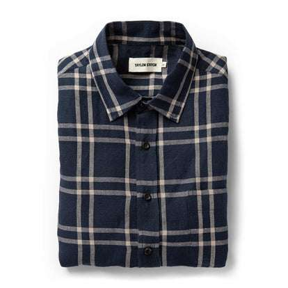 The California in Navy Plaid