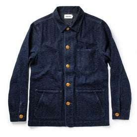 The Ojai Jacket in Indigo Herringbone: Featured Image