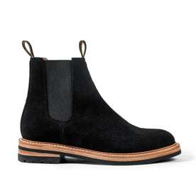 The Ranch Boot in Coal Weatherproof Suede: Featured Image